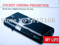 Wholesale Mini Portable High Definition Lumens Pocket LED Portable Multimedia Mobile Pocket Cinema Projector