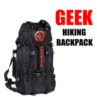 Wholesale Men s Three functions Geek Camping Hiking Backpack Outdoor Traveling Bags Handbag Backpacks Knapsack