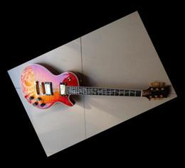 New custom shop Abalone Binding Body electric guitar China Guitar cherry
