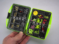 Wholesale ASSORTED FISHING tackles swivels JIG HOOKS BOX g