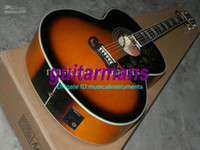 Wholesale Speical Sales Newest Honey Burst Acoustic Electric Guitar High Quality Cheap w2454