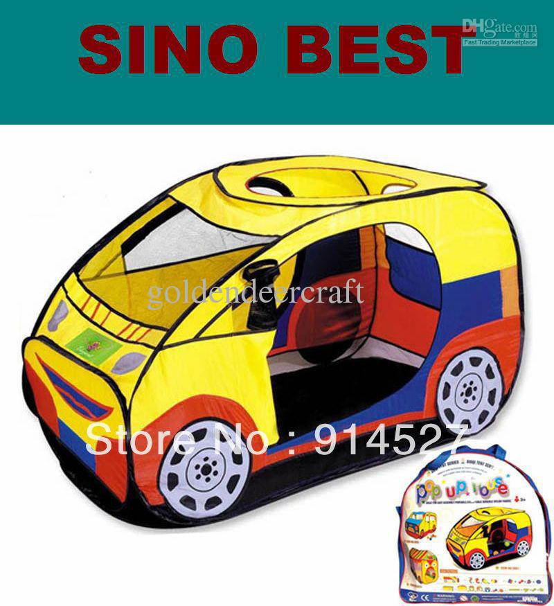 2014 new cute car childrentent play houses toys for baby kids girls boys gifts children outdoor indoor birthday gifts children s tent baby toy toys for