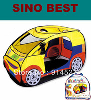 Wholesale 2013 New Cute Car Children s Tent Play Houses for kids girls boys Gifts Children Indoor