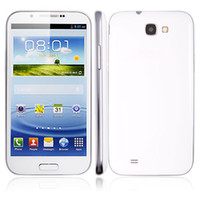 Wholesale 2PCS H7100 Smart Phone Android MTK6577 Dual Core G RAM G GPS Inch QHD Screen White FA01