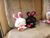 Wholesale Motor Cartoon Carbon Bag Cute Couple rabbit Pattern Bamboo charcoal Packet Car Accessories
