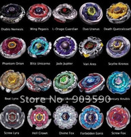 Wholesale DEATH QUETZALCOATL RDF BB119 Beyblade Metal Fusion D Top gyro Set masters Styles Can choose k