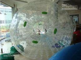 Wholesale Black NEW ZORB BALL TPU or mm PVC zorb ball GRASS BALL Dual harness with air blower tobe