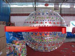 Wholesale 2012 Black NEW ZORB BALL TPU or mm PVC zorb ball GRASS BALL Dual harness with air blower tobe