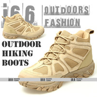 Unisex Summer 600D Oxford fabric 6 inch outdoor Army Military Desert Combat Tactical Boots Mountain hiking boots U.S.SIZE:7~10.5