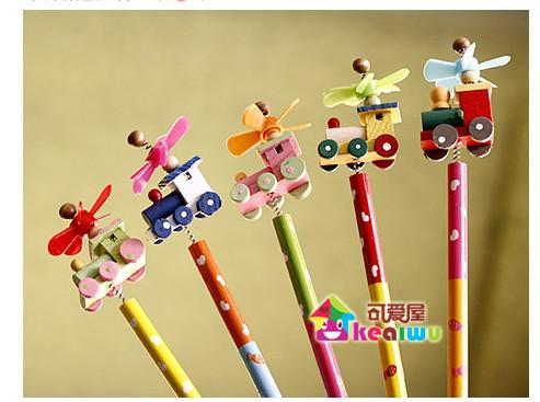 2017 Gifts Novelty Pencils Wooden Pencil Lovely Wooden Pencil Cute ...