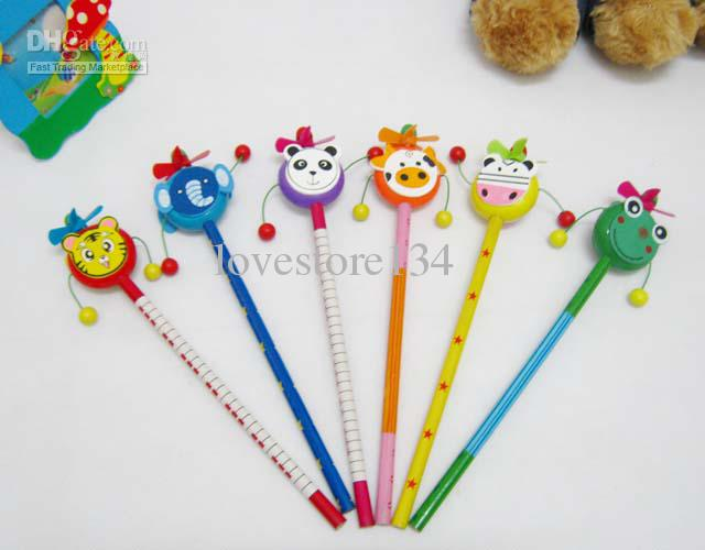 2017 Gifts Novelty Pencils Wooden Pencil Lovely Windmill Pencil ...