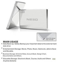 Wholesale real GB TB NESO USB External HDD Hard Disk Drive PC amp MAC FAST POST BRAND NEW