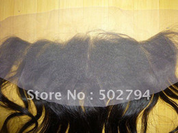 Wholesale 13by4 Brazilian virgin human hair lace frontal