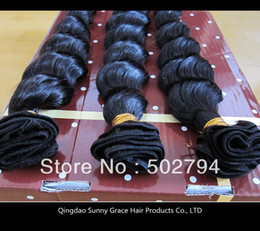 Wholesale 3pcs New deep wave Virgin Brazilian hair extension