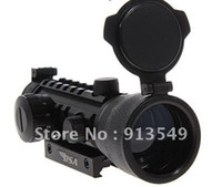 Wholesale Tactical x MM Red and Green Laser Collimator Sight Monocular Riflescope Rifle Scope with Gun Mount for Gun Fans