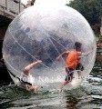 Wholesale Water Walking Ball Roll Ball Inflatable Zorb ball Germany zipper