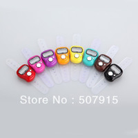 Cheap Promotional Electronic ring hand tally counter with mixture color free shipping 50pcs lot