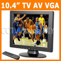 Wholesale 10 quot TFT LCD Screen VGA AV input Monitor with TV CH Video input Ch Audio input