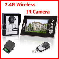 Wholesale 2 GHz Wireless Inch Digital TFT LCD Video Door Phone Home IR Camera Intercom System