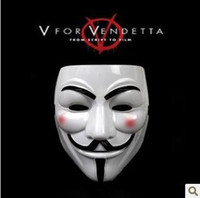 Wholesale Hot sale V for vendetta mask anonymous mask PVC party cosplay props