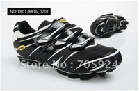 Wholesale Mens Cycling Shoes Athletic Shoes professional Nylon fibreglass soles with clips racing bicycle shoes for road racing
