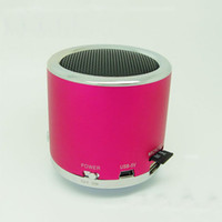 Wholesale 100pcs new MN02 Speaker Mini Portable Speaker support TF Card U Disc FM Function