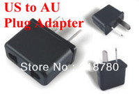 Wholesale 10X US USA EURO EU TO AU Australia Ac Power Adaptor Plug Travel Converter