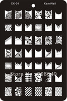 Wholesale Nail Art Stamp XL Template For Fingernail Desgin Set Draw Tool Products FreeShipping
