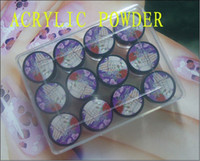 Wholesale 3D nail art Color EZFLOW Acrylic Powder Kit Nail Art Acrylics Tools Products