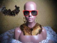 Wholesale HOT sale High Quality upper body Fiberglass model black women female Mannequin Head practise head training head for wigs