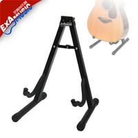 Wholesale Examusic musical instrument guitar mount electric guitar rack folk guitar bass wood guitar rack