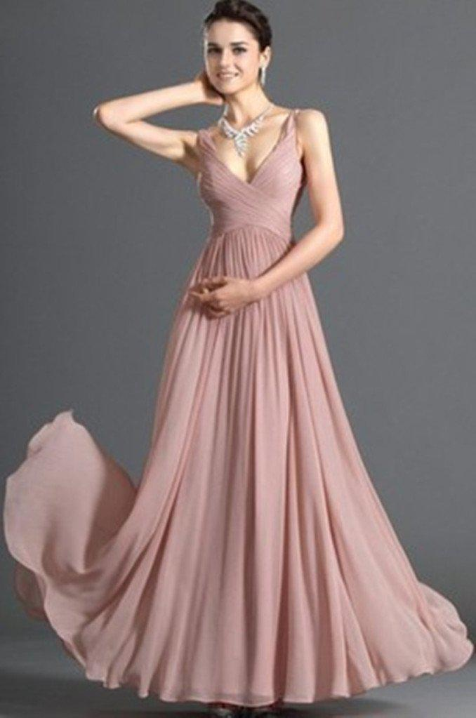 New Simple Formal Gown Long