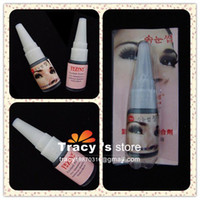 Wholesale FreeShiping False Eyelashes Extension Adhesive Glue Eye Lash Beauty Tool Professional Makeup Black Y