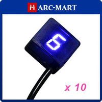 Wholesale Super Thin Speed Blue Universal Digital Neutral Gear Indicator for Motorcycle ST102