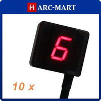 Wholesale New Auto Programming Speed Red Universal Digital Gear Indicator for Motorcycle ST103