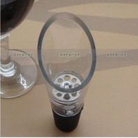 Wholesale Wine Aerator Pour Spout Bottle Stopper Decanter Pourer Aerating