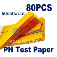 Wholesale 50sets Full Range Water PH Test Paper Litmus Strips Kit Testing freeshipping dropship