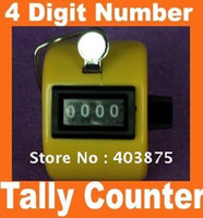 Wholesale Big discount Hand held Tally Counter Digit Number Clicker Golf