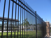 Wholesale to Aus The wrought iron fence color your life