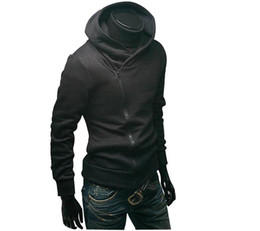 Wholesale High Collar Men s Jacket Top Brand Men s Dust Coat Hoodies Clothes sweater overcoat o