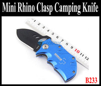 Wholesale Mini Boker Rhino Clasp Knife for Camping Knife B233 plus