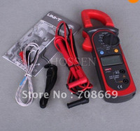 Wholesale High Accuracy UT202 Digital Clamp Multimeters DMM DCV ACV Auto Range Temperature