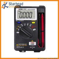 Wholesale Bland New VICTOR VC921 Pocket Digital Multimeter Meter warranty Mini type