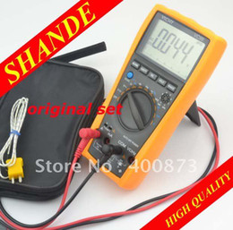 Wholesale Vichy VC99 Multimeter analog bar C F better FLUKE B