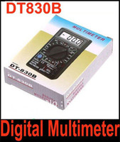 Wholesale DT830B DT B AC DC Professional Electric Tester Checker Tester Digital Multimeter with retail box