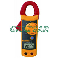 -10°C to +50°C 0 - 400 V 0-400 A Free shipping Fluke 302 Digital Clamp Meter AC DC Multimeter Tester