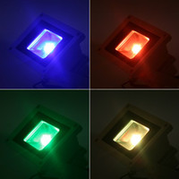 Wholesale 10W RGB LED Flood Light Waterproof Landscape Lamp