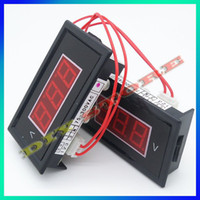 Guangdong China (Mainland) Digital Only -10 °c -65 °c 3pcs lot Brand New Red Digital Voltmeter AC 75V to 300V LED Digital Panel Meter AC220V Voltage RED+F