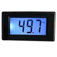 Wholesale Digital Frequency Meter Hz Blue LCD Frequency Panel Meter VAC Frequency Monitor Meter