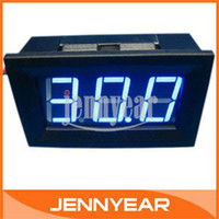 Wholesale Digital Voltmeter DC V Blue LED Digital Panel Meter Power Voltmeter